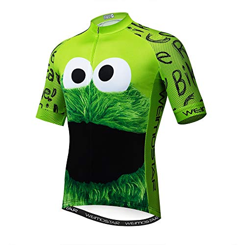 Maillot de ciclismo con manga corta para hombre (2021). Ropa de ciclismo...