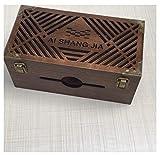 YOSPOSS Kabelkanal Box KZ5327-W976 Massivholz Schreibtisch Aufbewahrungsbox Kabelmanagement Box...