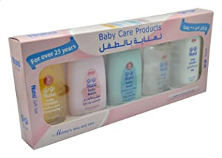 Nunu Gift Set Baby Care Products, 200ml - Set of 5