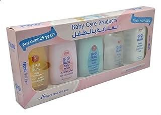 Nunu Gift Set Baby Care Products, 200ml - Set of 5