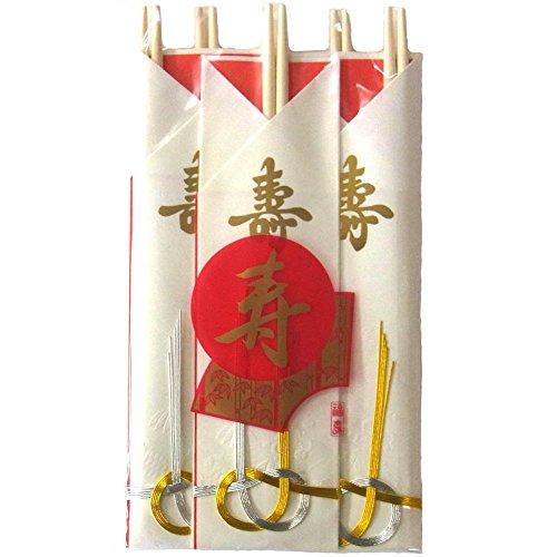 小柳産業 祝箸 水引き 5pcs 29076