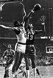 WonderClub Wilt Chamberlain vs Bill Russell Poster, Lakers, Celtics, Basketball, Hoops, NBA