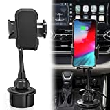 Car Cup Holder Phone Mount, Cell Phone Holder for Car,Compatible with iPhone 11 Pro Max Xs/X/8/…