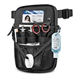 Nurse Fanny Pack with Tape Holder, SITHON Multi Compartment Medical Gear Pocket Belt Bag | Nursing Organizer Pouch | Utility Waist Pack for Stethoscopes, Bandage Scissors and Other Medical Supplies