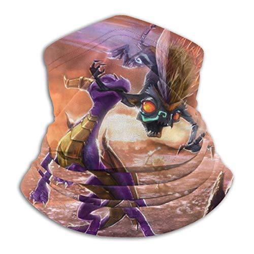 huatongxin The Legend of Spyro ??? Dawn of The Dragon Scaldacollo in microfibra