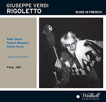 Verdi: Rigoletto (Recorded 1961)