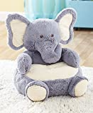 Kids Plush Elephant Animal Chair