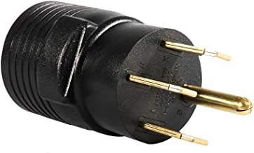 XUANHUA 14-50P to 6-50R Welder Adapter (50A 250V Range/RV/Generator)