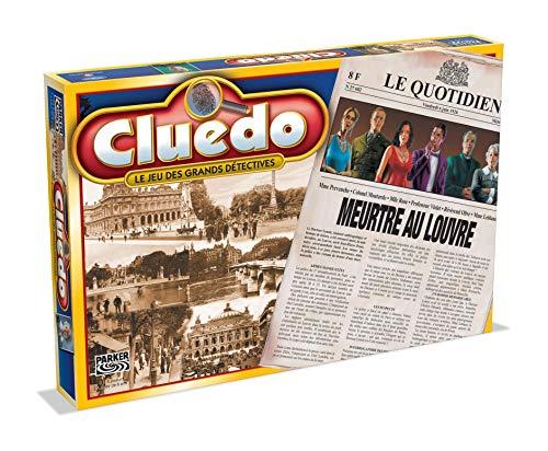 CLUEDO MEURTRE AU LOUVRE - Jeu de société - Version française