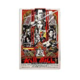 Kill Bill Vol. 2 Filmposter im klassischen Stil der