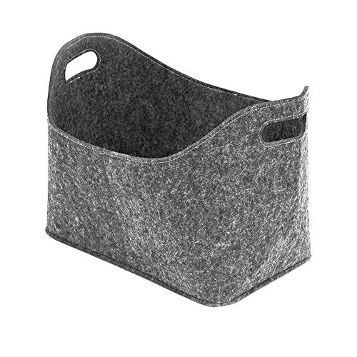 ZYZY Fireplace Firewood Bag for Wood Handles Storage Basket Rack Pouch Case B