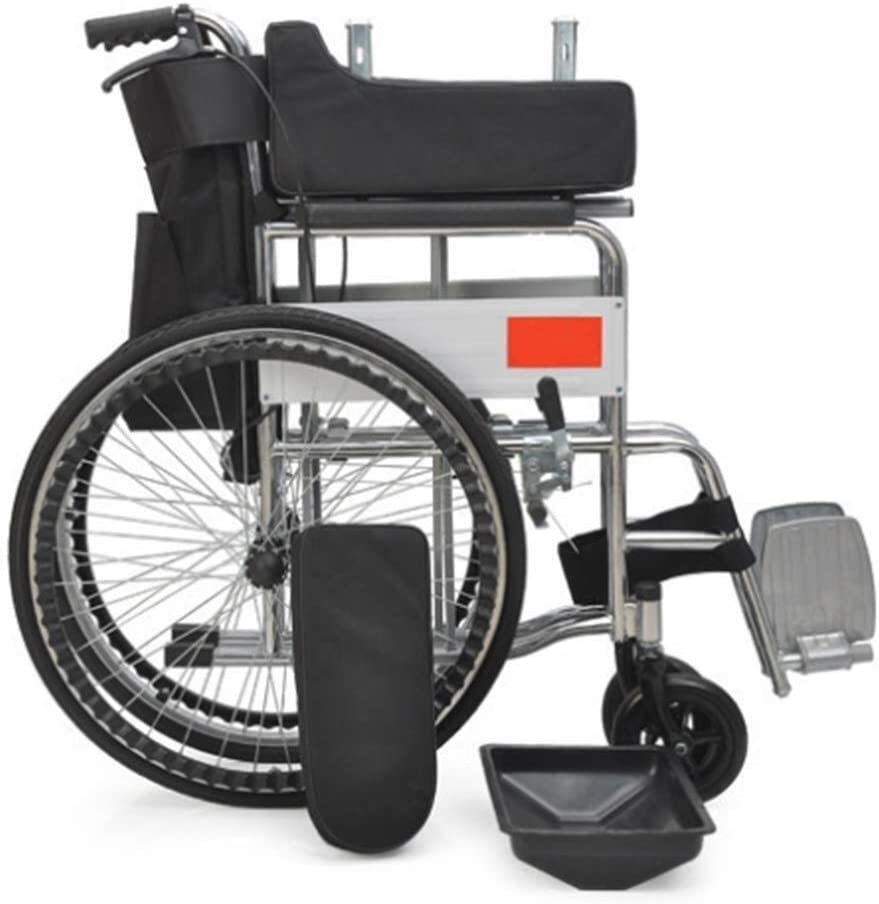 LHBNH Comfortable Wheelchair Our shop OFFers the best service Lightweight Portable Discount mail order Wheelch Travel