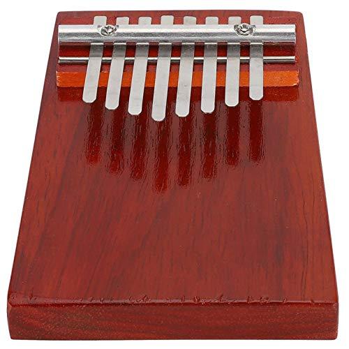 Piano de pulgar ligero para un aprendizaje serio de los amantes de los instrumentos musicales para los reproductores de música(red, blue)