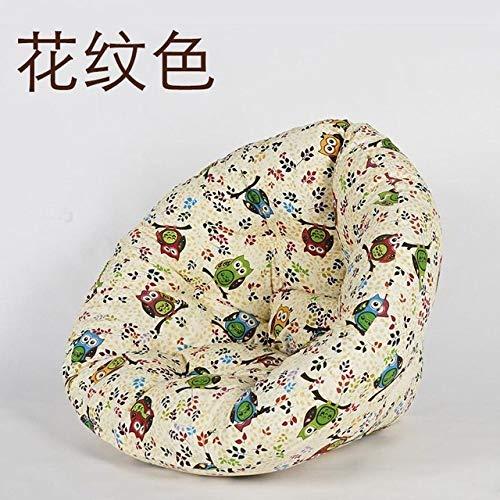 LKU sofakruk comfortabele zitzak stoel faul sofa afzonderlijke zitzak ligstoel kleine woning slaapkamer lief, M maat 9