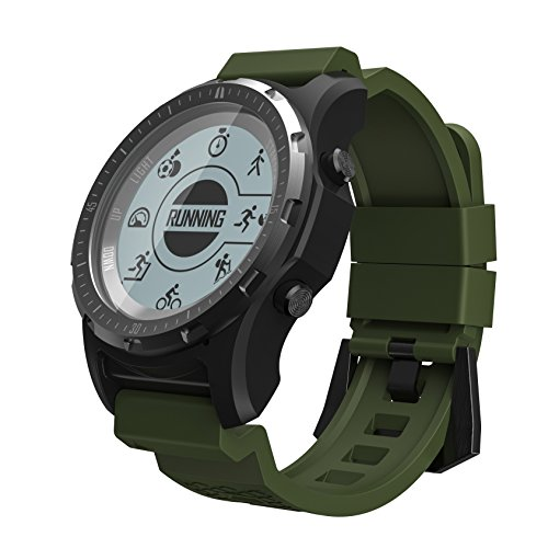 S966 Smart Horloge Hartslag Druk Running Riding Mountain Klimmen Golf Wandelen Multi-Functionele Smart Horloge
