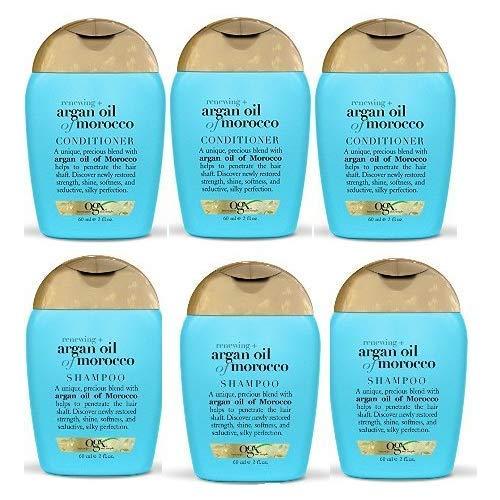 OGX Renewing Argan Oil of Morocco Shampoo & Conditioner (Shampoo & Conditioner Travel Size Set)