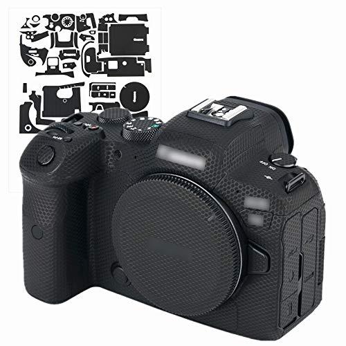 カメラ 保護レザーフィルム ボディフィルム Canon EOS R6 EOSR6 カメラ に対応 3M材料 マトリックスブラック