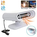 Portable Car Heater Defroster,Womdee 12V 150W Windshield Defogger Defroster,3 in 1 Heating Cooling Function Windshield Heater Defroster Car Heaters That Plug into Cigarette,Heating Quickly,Low Noise