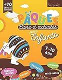 pâques livre d'activités: + de 70 jeux pour les 7-10 ans | coloriage, mots-mêlés, labyrinthes,