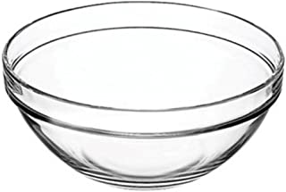 """Vicrila 4 Liter Bake and Serve 10"""" x 4.5"""" Glass Bowl! Dishwasher Safe - Oven Safe - Microwave Safe - BPA Free! Large Elegant 4 Liter Baking Glass Bowl! (1)"""