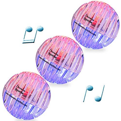 Sheraton Luxuries 3 LED Light Up Bouncy Dog Balls...