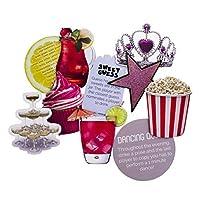 Paladone Party Game Coasters, 1 x 10 x 8 cm, Multi-Colour [並行輸入品]