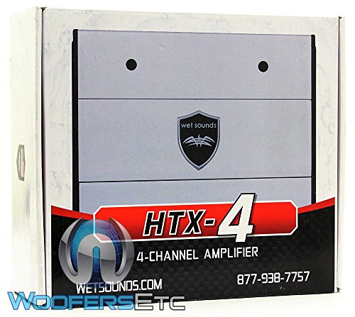 Wet Sounds HTX-4 Class D 4 Channel Marine Amplifier