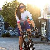 XJYWJ Maglia da ciclismo da donna, abito da donna Triathlon, abiti da ciclismo a maniche corte, tuta in bicicletta in mountain bike Triathlon (Color : 19, Size : XXXXXL)