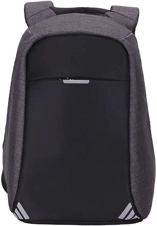 HUDUI Rucksack Anti-Diebstahl-Mnner und Frauen Rucksack USB-Aufladung Laptop Design Mnner Reiserucksack Outdoor-Wandern Rucksack