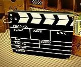 DISOK Album De Fotos Claqueta de Cine Scrap Retro Film - Albumes de Fotos Creativos, Scrapbooking, Bodas Handmade, Kraft