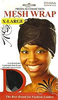 Donna Premium Collection X-Large Mesh Wrap (Black)