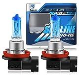 H8 12V 35W 5000K Lampadine Alogene Xenon Super Bianche ad Alta Potenza Per Lampada Auto - Fendinebbia Luce Di Marcia Diurna DRL (2 pezzi)