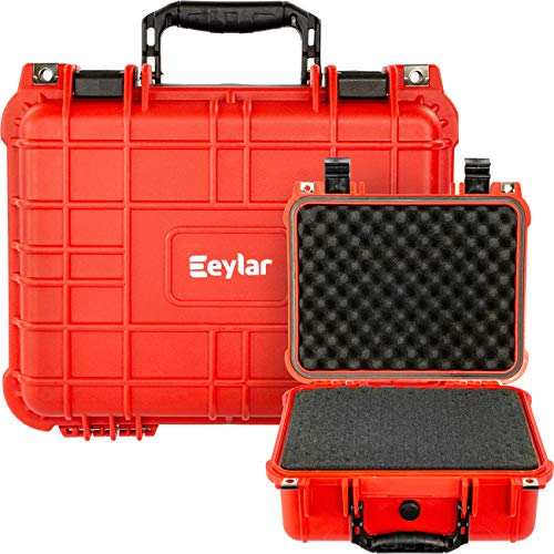 Eylar Protective Hard Camera Case Water & Shock Proof w/Foam TSA Approved 13.37 Inch 11.62 Inch 6 Inch Red