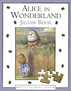 Alice in Wonderland Jigsaw Book: With Seven 48-Piece Puzzles