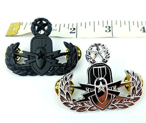 US Navy Master Explosive Ordnance Disposal EOD Brooch Badge Insignia PIN of 2