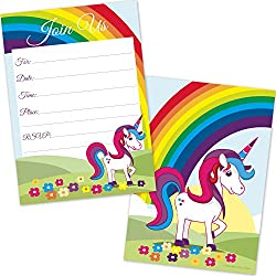 Top Unicorn Party Invitations Kids Will Love