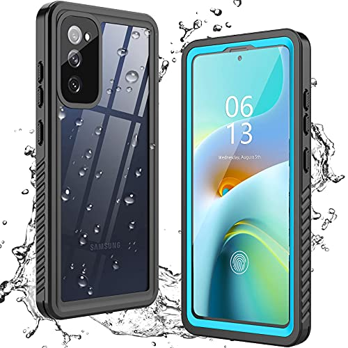 ANTSHARE for Samsung Galaxy S20 FE 5G Case Waterproof, Built in Screen Protector 360° Full Body...