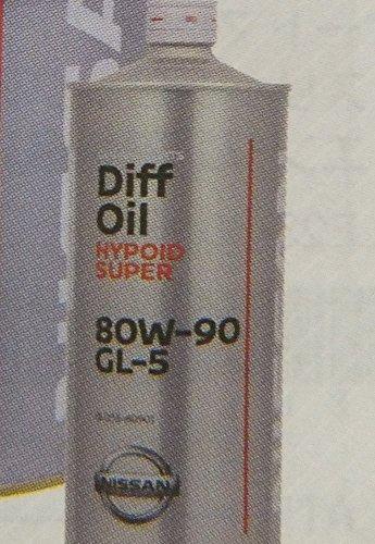 NISSAN デフオイルハイポイドスーパー GL-5 80W-90 ディファレンシャル用 1L
