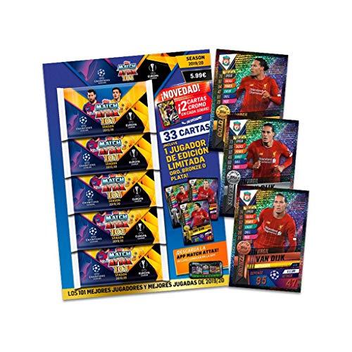 trading cards-multi pack-edición alemana Topps-Champions League 2015//16