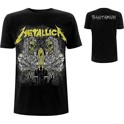 Metallica - Sanitarium T Shirt (X-Large)
