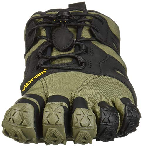 Vibram FiveFingers V-Trail 2.0 Mens Running Shoe, Ivy/Black, 8.5/9 UK