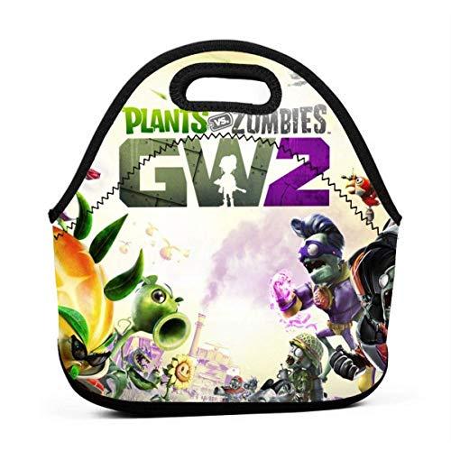 AOOEDM - Mini bolsa de fruta aislada, reutilizable y duradera para mamá adulta, contenedor de viaje para llevar, PvZ Garden Warfare 2 Fiambrera de póster para regalo de devolución de gimnasio univers