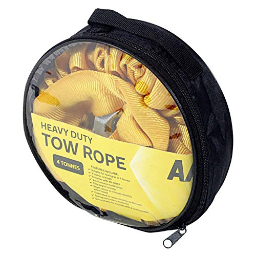 AA 5060114616226 Heavy-Duty, Strap-Style Tow Rope