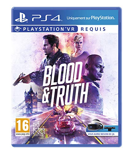 Blood and Truth - PlayStation VR, Version...