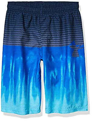 Under Armour Boys' Big Volley Swim Trunk, Versa Blue sp201, YXL