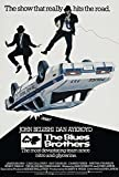 MBPOSTERS The Blues Brothers Retro-Filmposter in