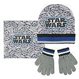 Star Wars - Conjunto de gorro, guantes, braga cuello polar