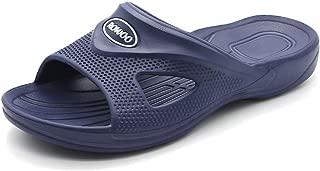 Men Slide Sandals Shower Sport Beach Bath Classic Slippers