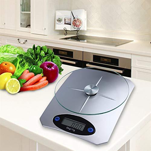 Báscula de cocina digital, báscula de alimentos para el hogar Báscula electrónica de cocina electrónica Báscula de cocción multipropósito Báscula de cocina