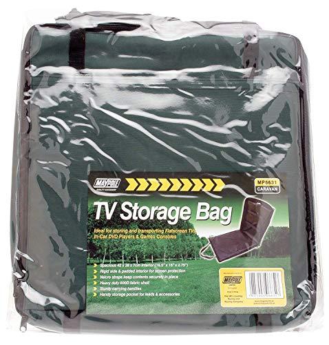 Maypole 6635 Gepolsterte Aufbewahrungstasche für Fernseher, DVD-Player etc, 56cm